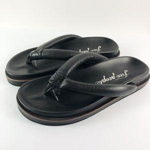 [FREE PEOPLE]  Lena Footbed Flip Flop Sandals NEW